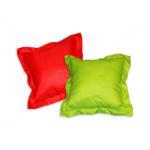 Díszpárna angol széllel cipzáras huzattal 35x35 cm AL79 piros