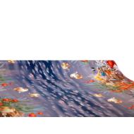 """Viaszos vászon Firenze - letörölhető asztalterítő """"halacskás"""""""