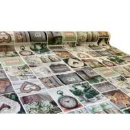 """Viaszos vászon Firenze - letörölhető asztalterítő """"otthoni hangulat"""""""