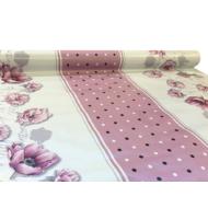 """Viaszos vászon Firenze - letörölhető asztalterítő """"pünkösdi rózsa"""""""