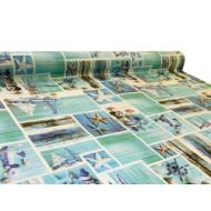 """Viaszos vászon Firenze - letörölhető asztalterítő """"tengerész nyár"""""""