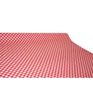 """Viaszos vászon Krakkó - letörölhető asztalterítő """"piros-fehér kockás"""""""