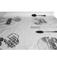 """Viaszos vászon Krakkó - letörölhető asztalterítő """"Bon Appetite"""""""