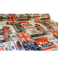 """Viaszos vászon Krakkó - letörölhető asztalterítő """"London"""""""