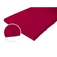 Jersey gumis lepedő 180-200x200 cm rubin