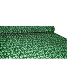 Csilla 100% pamut 270g/m2 150 cm kisvirágos, zöld
