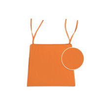 Polly trapéz ülőpárna megkötővel narancs