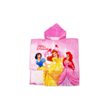 Disney kapucnis poncsó 60x120 cm Princess