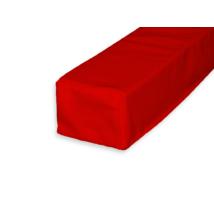Ablakpárna 8x10x60 cm piros