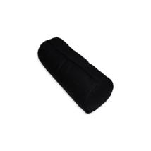 Hengerpárna, tollal töltött 15x35 cm UNI kék (fekete)