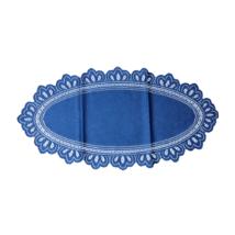 Asztalterítő jacquard csipke ovál 30x60 cm