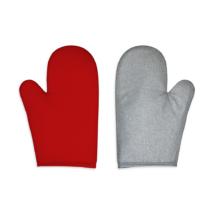 Konyhai fogókesztyű aluvásznas jobb kezes AL79 piros