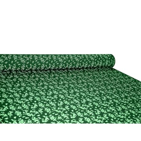 Csilla 100% pamut 270g/m2 150 cm kisvirágos zöld