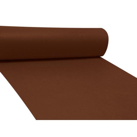 Dekor filc méteráru - sötét barna
