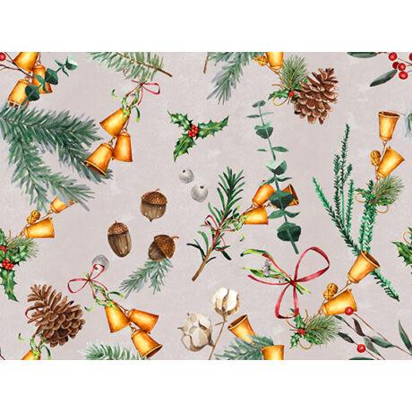 Karácsonyi méteráru 140 cm makkos