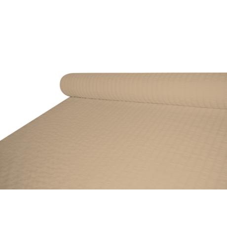 Kevert szálas krepp 140 cm széles UNI barna