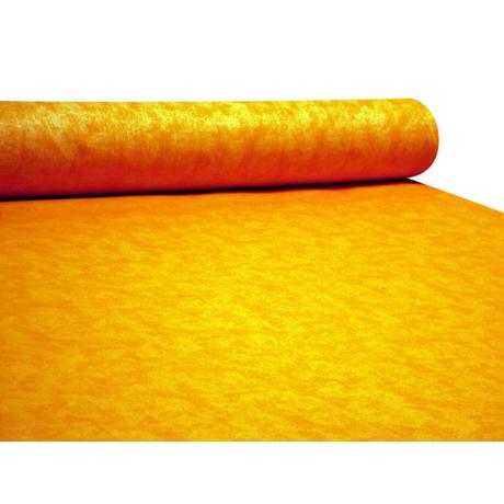 Nyomott mintás pamut-poliészter méteráru - 467 orange