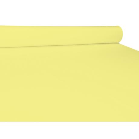UNI pamut-poliészter méteráru - vaj sárga
