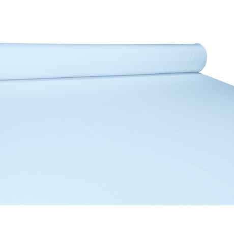 UNI pamut-poliészter méteráru - világos kék