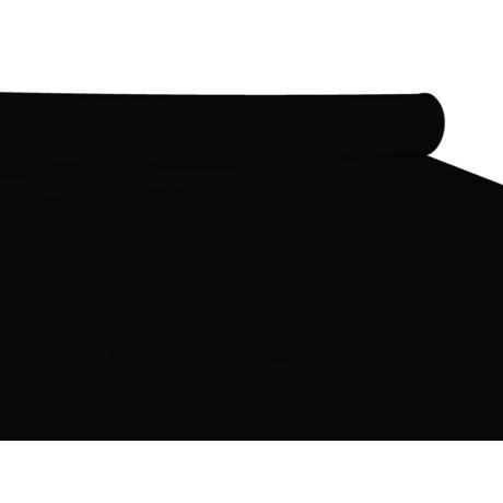 UNI pamut-poliészter méteráru - fekete