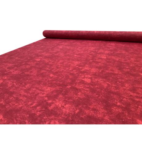 Nyomott mintás pamut-poliészter méteráru - 467 red márvány