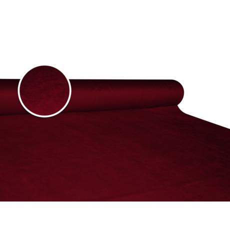 Szarvasbőr (velúr) hatású méteráru - bordó