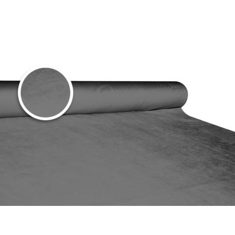 Szarvasbőr (velúr) hatású méteráru - szürke