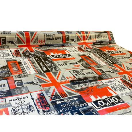 Viaszos vászon Krakkó London 31610
