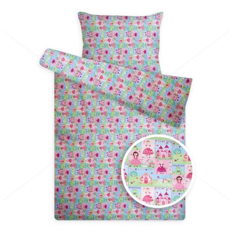gyerek ágynemű huzat 1112 hercegnős