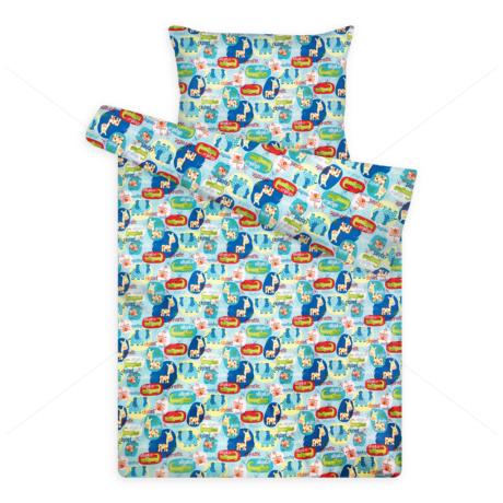 Gyerek ágynemű huzat garnitúra pc 1131 aligátoros