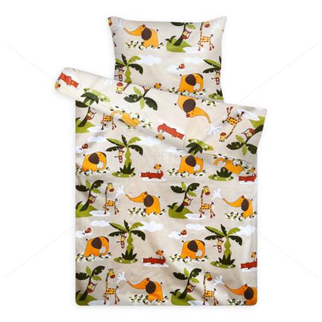Gyerek ágynemű huzat garnitúra pc 1020 szafaris