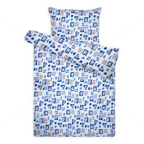 gyerek krepp ágynemű huzat 1090 cicás