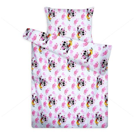 Disney ágynemű huzat garnitúra Minnie&Mickey