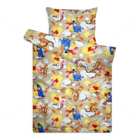 Walt Disney ágynemű huzat garnitúra 70x90+140x200 cm