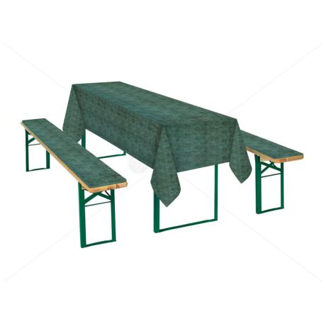 Sörpad garnitúra zöld márványos 467green
