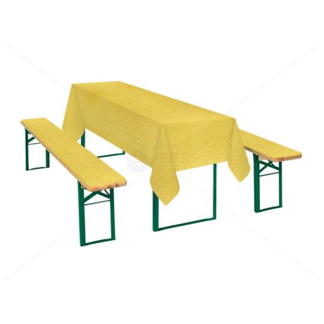 Sörpad garnitúra sárga márványos 467yellow