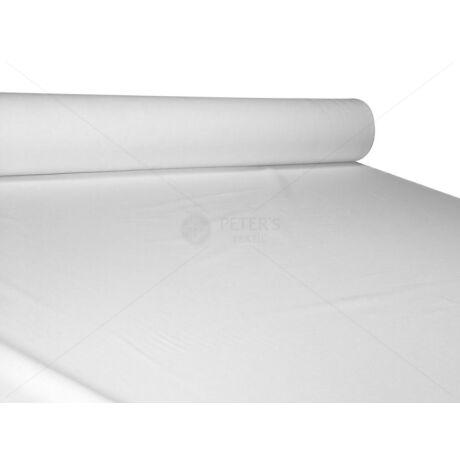 Lepedővászon mercerizált 100% pamut-szatén 280 cm 140g/m2 fehér