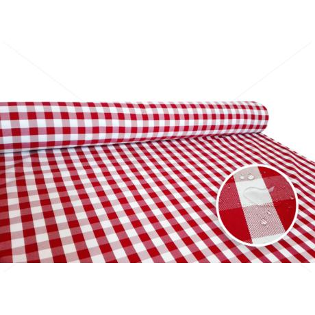 Tarkán szőtt szennytaszító asztalterítő alapanyag