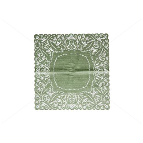 Asztalterítő jacquard csipke 40x40 cm