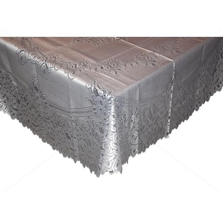 Asztalterítő jacquard csipke d=160 cm