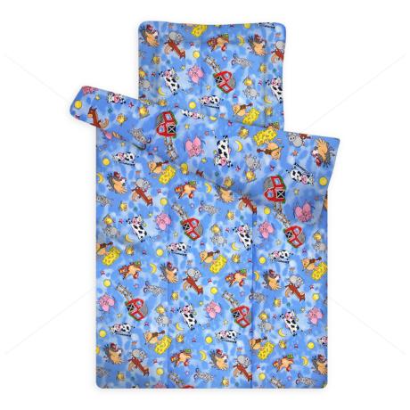 Gyermek paplan és párna garnitúra 880 blue