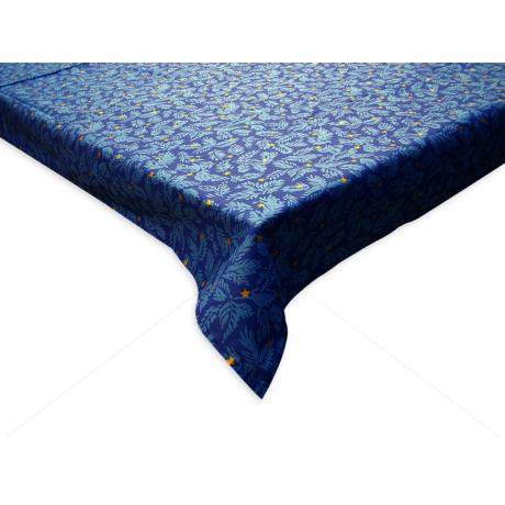 100% pamut asztalterítő karácsonyi mintával 140x140 cm