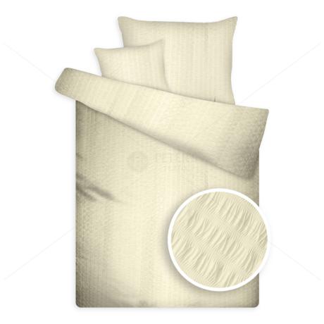 Krepp ágynemű magas pamuttartalommal vaj