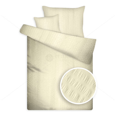 Öko krepp ágynemű vaj