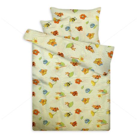 Krepp ágynemű huzat méhecskés vaj