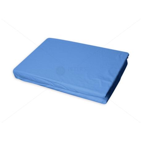Jersey gumis lepedő 60-70x120-140 cm világos kék