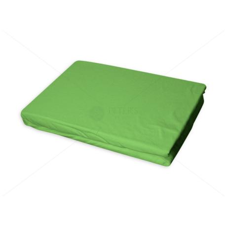 Jersey gumis lepedő 60-70x120-140 cm világos zöld