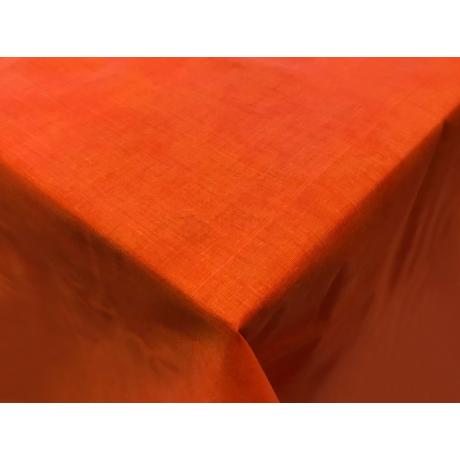 Asztalterítő nyomott mintával 100x140 cm márványos narancs