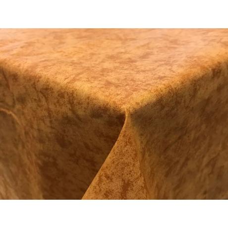 Asztalterítő nyomott mintával 120x120cm barna márványos