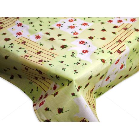 Asztalterítő nyomott mintával 140x180 cm kis virágos